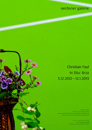 "Christian Faul ""In Situ: tirza"""